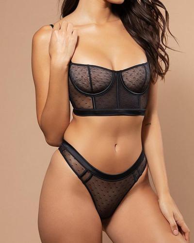 Women sexy Lace Lingerie 2 Piece