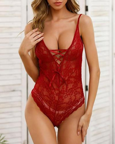Hot For You Teddy Sexy Lingerie