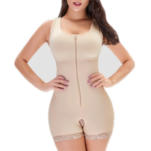 ZIP VEST BODYSUIT SHAPER