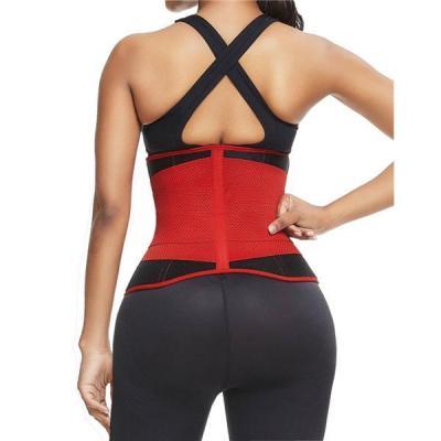 Ultra Light Red Neoprene Waist Trainer Anti-Slip