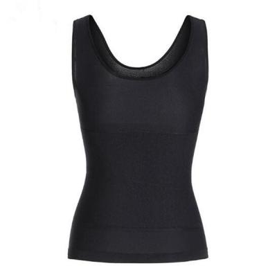 Everyday Shaping Black Adjustable Strap Shaper Tank Plain