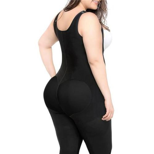 WOMEN PLUS SIZE WAIST SHAPER BUTT LIFTER BODYSUIT