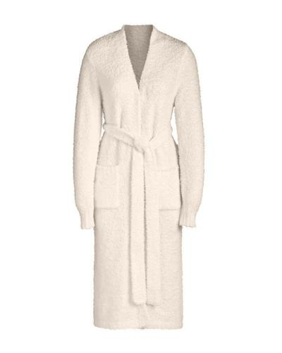 Super Soft Knit Long Bathrobe Pajamas Homewear Coat