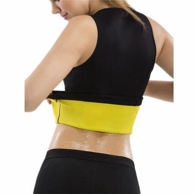 Women Waist Trainer Vest Tops Double Zips