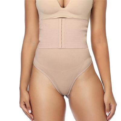 Womens Waist Trainer Tummy Control Thong Girdles