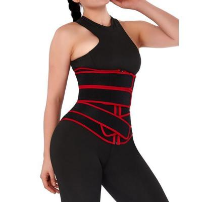 Neoprene Zip Three-Belt Waist Trainer
