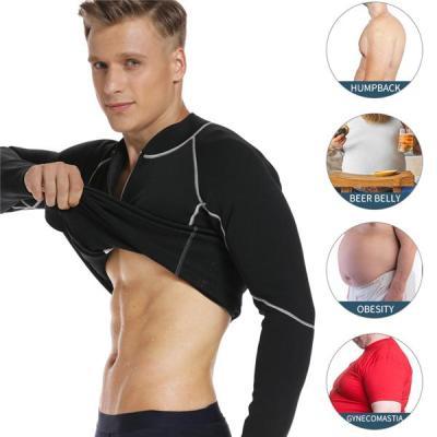 Mens Slimming Body Shaper Waist Trainer Abs Abdomen Slim Weight Loss Tummy