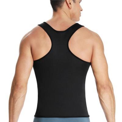 Men's Neoprene Workout Tank Tops Sweat Sauna Suits Waist Trainer