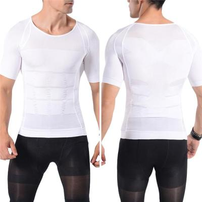 Mens Body Shaper Abdomen Slimming Shapewear Belly Shaping Corset