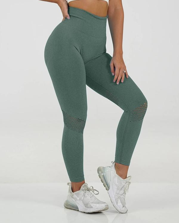 Basic Boutique Ankle Length Seamless Workout Leggings