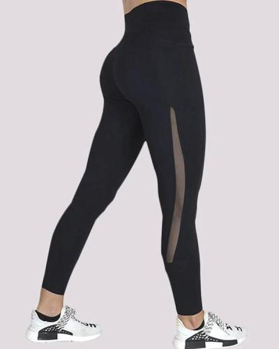 Pocket Fitness Legging Yoga Pants Seamless Legging