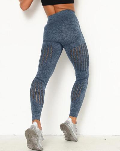 Women Seamless High Waist Leggings Yoga Pants