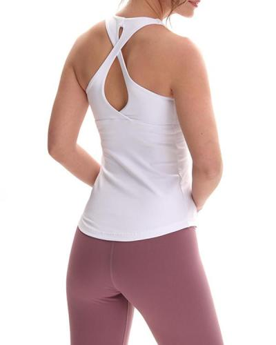 Comfortable Sport Yoga Vest Top