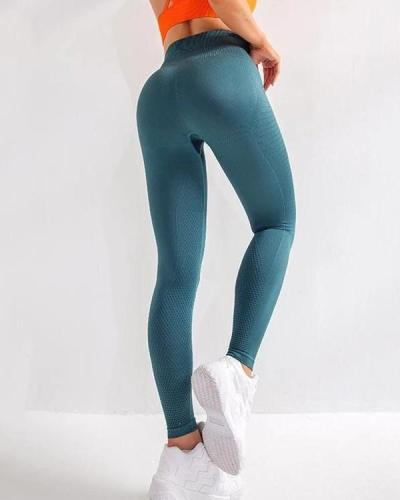 High Waist Seamless Workout Leggings