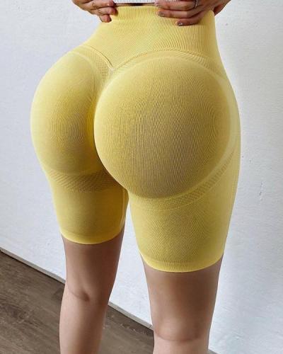 Fantastic Yoga Shorts Fitness Seamless Butt Lifter Gym Shorts
