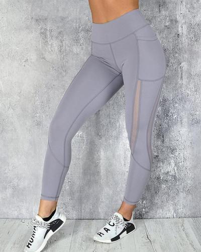 Pocket Fitness Legging Yoga Pants Seamless Legging