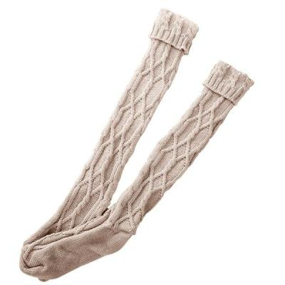 Knitted Long Thigh High Warm Socks