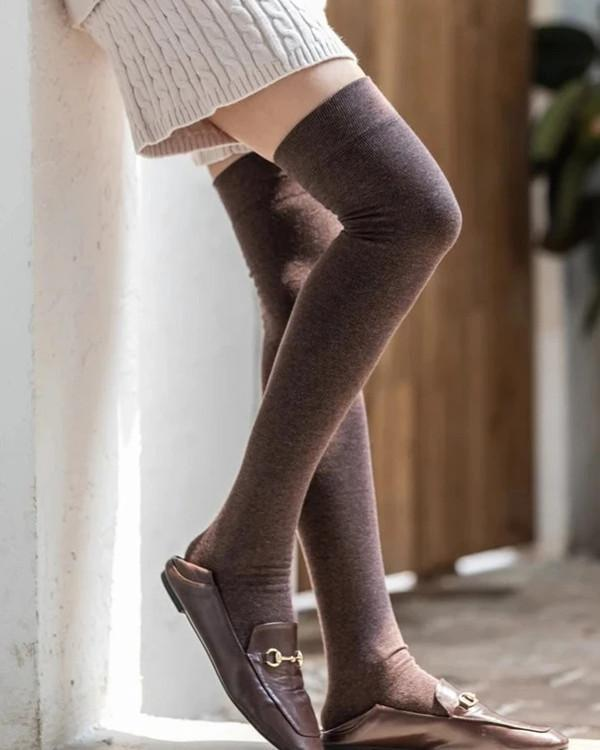 Over Knee Warm Thick Socks Stockings