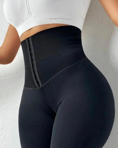 Seamless Waist Cicher Shapewear Sports Leggings
