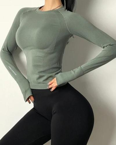 Training Tight-fitting Quick-drying Yoga Long Sleeve
