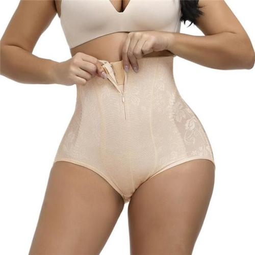 Seamless High Waist Lace Control  Panty