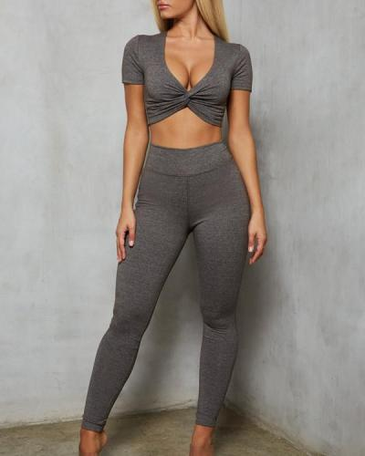 2021 Fashion Fitness Yoga Sports Suit