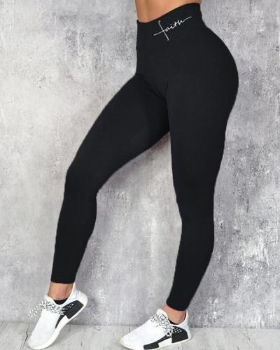 Women's Fitness Hip Up Legging Yoga Pants