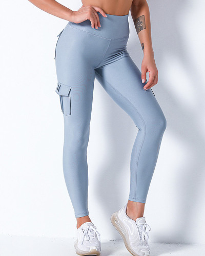 Stretch-fit Hip Leggings With Pockets