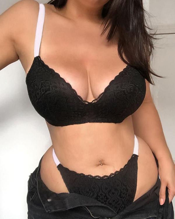 Sexy Lace Lingerie Set