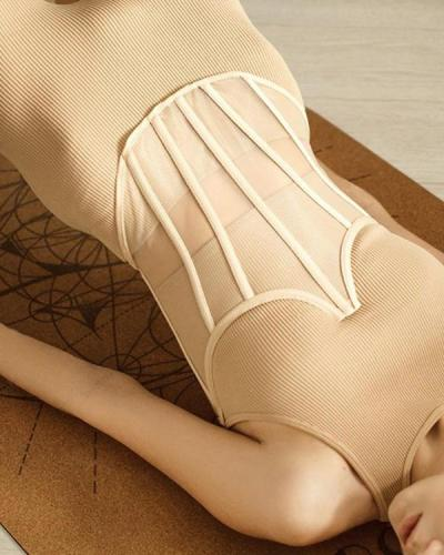 Women Fashion Sexy Lace Up Mesh Corset