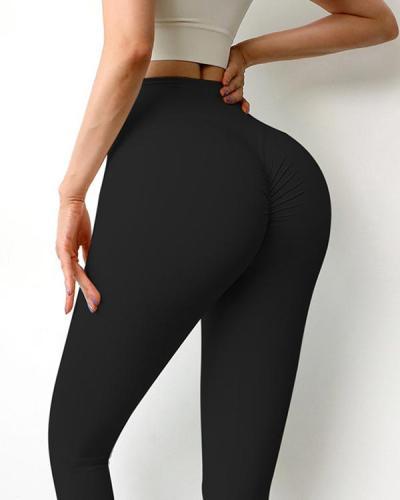 High Waist Butt Lifter Yoga Pants Sports Leggings