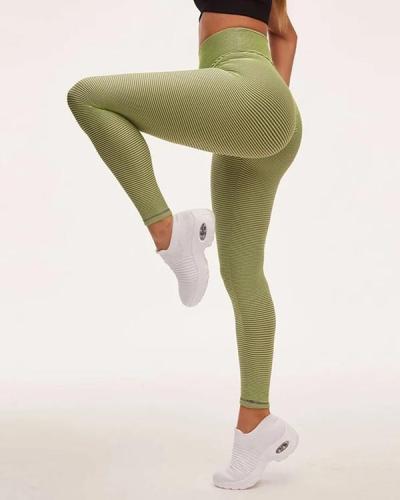 Hip-Lifting Compression High-Waist Yoga Leggings