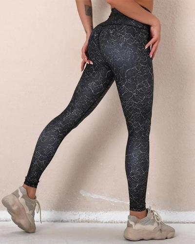 Slim High Elastic Yoga Active Pants Leggings