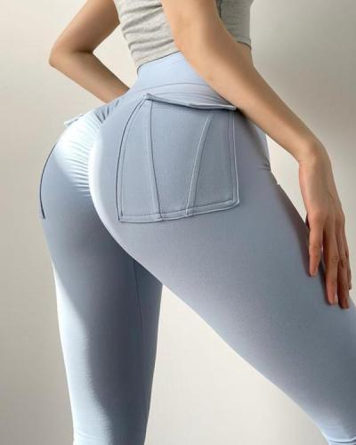 Fashion tight yoga pants