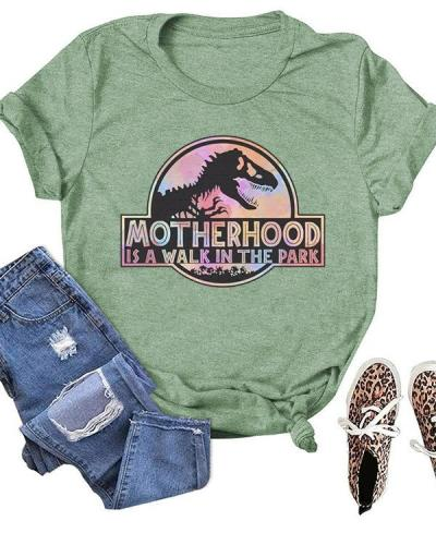 Motherhood Printed Daily Simple T-shirts