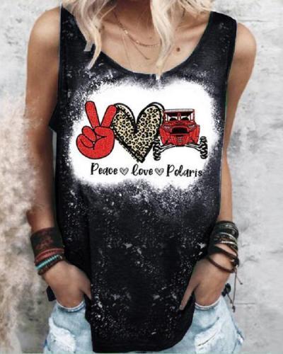 Women's Casual Printed Vest