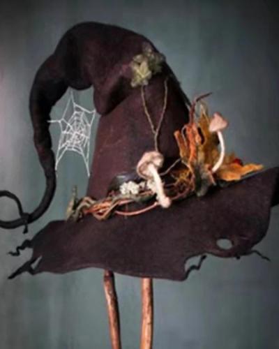 Halloween Magic Witch Hat