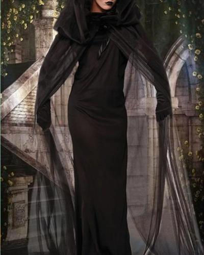 Halloween Witch Costume Ghost Bride l Dress