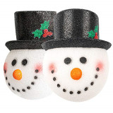 2 Pack Snowman Christmas Porch Light Covers 12 Inch