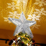 Lighted LED Christmas Tree Topper