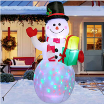 5ft Christmas Inflatables Blow Up Yard Decorations