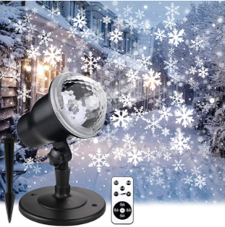 Christmas Snowflake Projector Lights