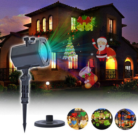 Christmas Holographic Projection
