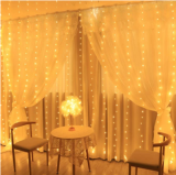 300 LED Window Curtain Lights Christmas Light
