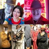 2020 Halloween Magical Moving Inkblot  Breath  Mask