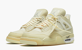 "Air Jordan 4 SP WMNS ""Off-White - Sail"""