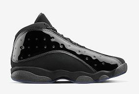 Air Jordan 13 xiii Pure Black Net 2017