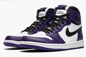 "Air Jordan 1 Retro High OG ""Court Purple 2.0"""