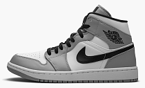 "Air Jordan 1 Mid ""Light Smoke Grey"""