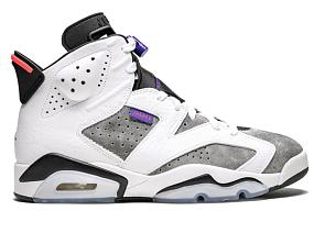 Air Jordan Retro 6 flint grey